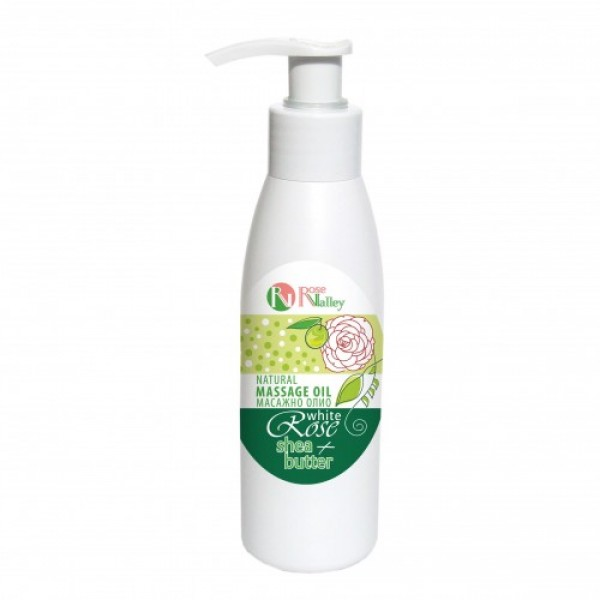 BODY OIL WHITE ROSE AND SHEA 125 ML