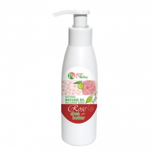 BODY OIL ROSE + SHEA 125 ML