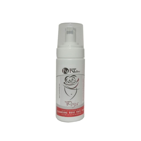 Cleansing Face Foam Illuminating Rose with rose oil 150 ml.