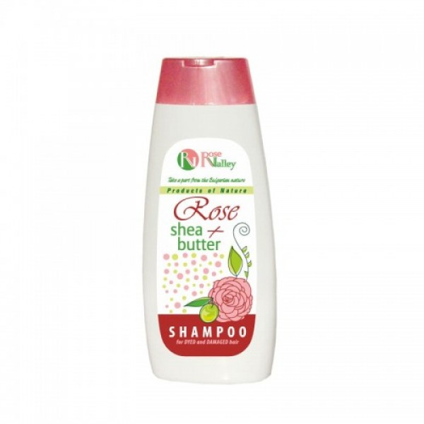 ROSE + SHEA SHAMPOO FOR DYED AND DAMAGED HAIR 250 ML
