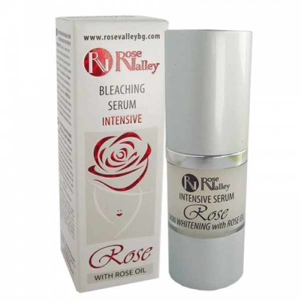 INTENSIVE SERUM WITH ROSE OIL AND ALGAE EXTRACT - WHITENING 20 ml.