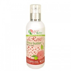 CLEANSING MILK ROSE + SHEA BUTTER 200 ML