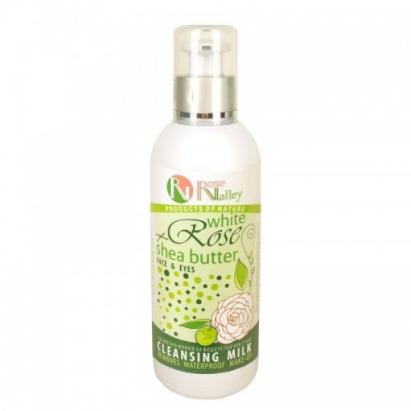 CLEANSING MILK WHITE ROSE + SHEA BUTTER 200 ML