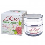 DAY FACE CREAM ROSE & SHEA WITH BULGARIAN ROSE WATER 50 ML.