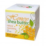 NIGHT FACE CREAM HONEY + SHEA-BUTTER 50 ML.