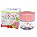 HYDRATING NIGHT CREAM ROSE & SHEA WITH BULGARIAN ROSE WATER 50 ML.