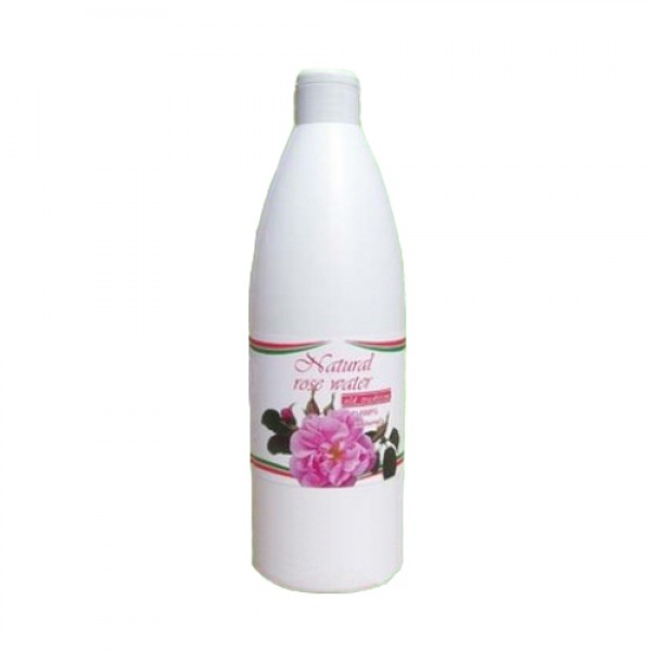 NATURAL BULGARIAN ROSE WATER 500 ML.