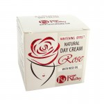 WHITENING DAY CREAM WITH ROSE OIL - NATURAL