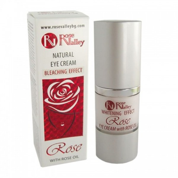 EYE CREAM WITH ROSE OIL AND WHITENING EFFECT 20 ml.