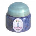 BATH SALTS WITH ESSENTIAL LAVENDER OIL - JAR 250 G