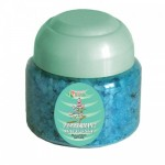 BATH SALTS WITH ESSENTIAL PEPPERMINT OIL - JAR 250 G