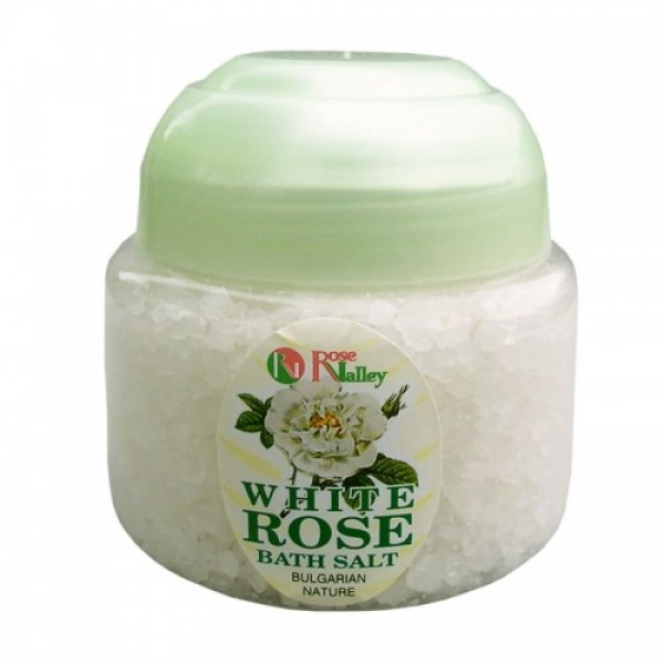 BATH SALTS WHITE ROSE - JAR 250 G