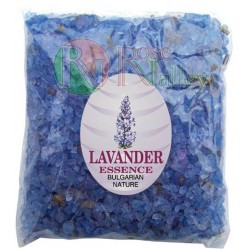 BATH SALTS WITH ESSENTIAL LAVENDER OIL - PACK 250 G