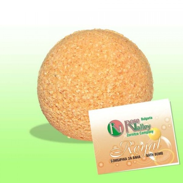 AROMATHERAPY BATH BOMB ROYAL 110 GR