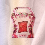 BATH SALTS WITH ESSENTIAL ROSE OIL - BOX 150 G