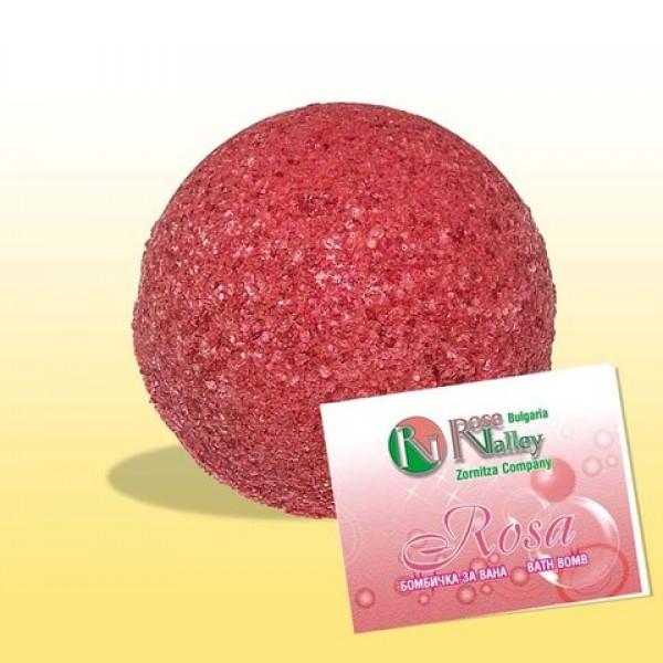 AROMATHERAPY BATH BOMB ROSE 110 G