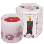 SCENTED CANDLE ROSE - LITTLE BOX 200 G.