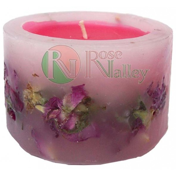 SCENTED CANDLE ROSE - DECO 120 G.