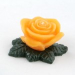 SCENTED CANDLE ROSE WITH BASE - SMALL60 G.