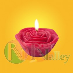 SCENTED CANDLE ROSE FLOATING 40 G.