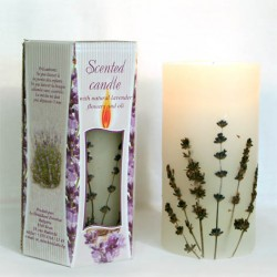 SCENTED CANDLE LAVENDER - BIG BOX 1 KG.
