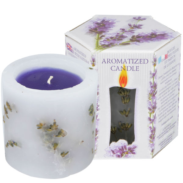 SCENTED CANDLE LAVENDER - LITTLE BOX 200 G.