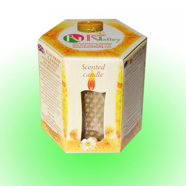 CANDLE HONEY IN A BOX 180 G.