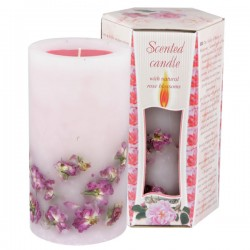 SCENTED CANDLE ROSE - BIG BOX