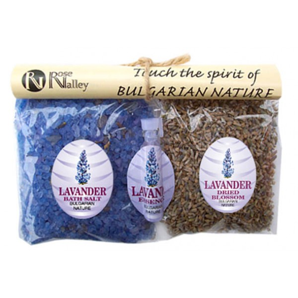 NATURAL SET LAVENDER