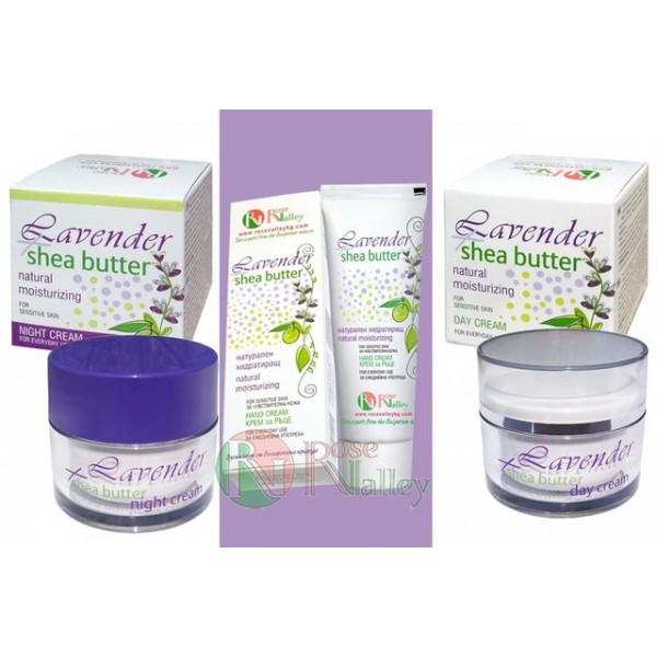 "HYDRATING SET CREAMS ""LAVENDULA AND SHE"""