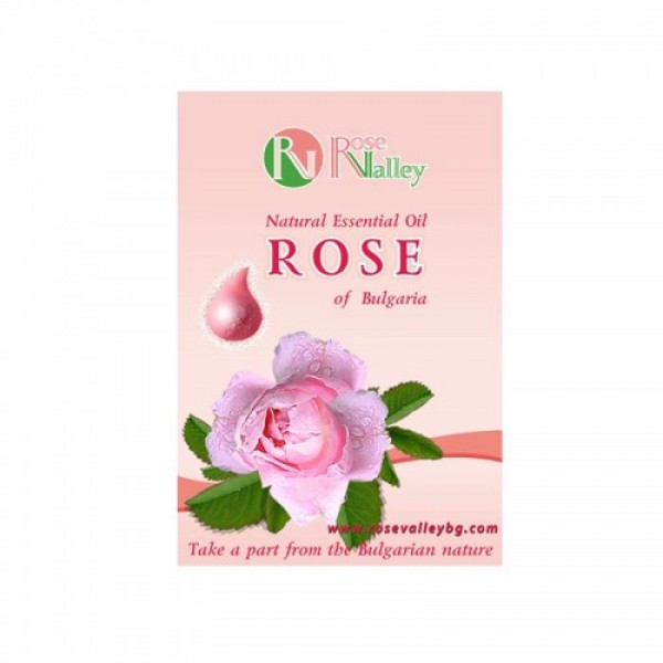 AROMАTHERAPY ROSE ESSENTIAL OILS FROM BULGARIA 0.5ML
