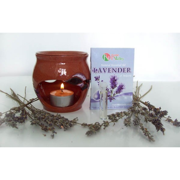 AROMАTHERAPY LAVENDER ESSENTIAL OILS FROM BULGARIA 2 ML