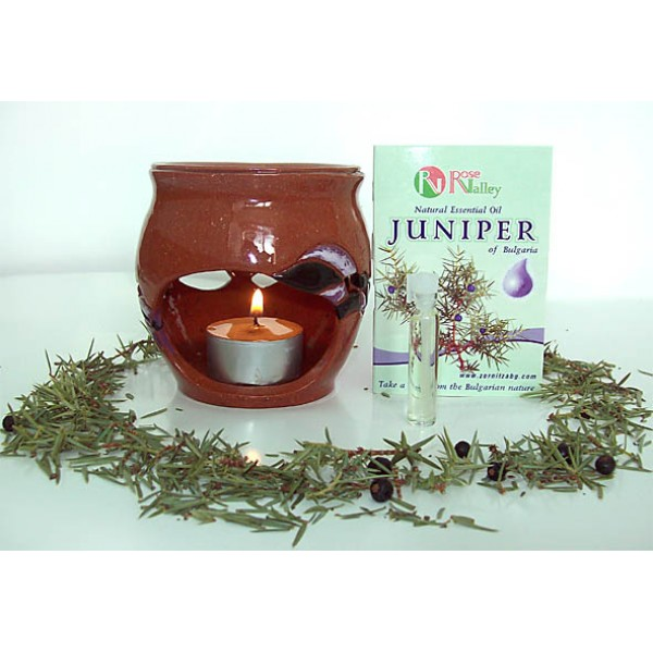 AROMАTHERAPY JUNIPER ESSENTIAL OILS FROM BULGARIA 2ML