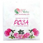 ROSE AIR FRESHENER WITH ESSENTIAL OILS