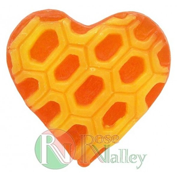 HANDMADE NATURAL SOAP WITH HONEY EXTRACT HEART 30 G