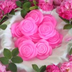 "HANDMADE NATURAL SOAP ROSE ""BULGARIAN ROSE BEAUTY "" 30 G"